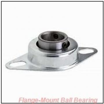 1.2500 in x 3.6250 in x 4.6563 in  NTN UELFU207 104 D1 Flange-Mount Ball Bearing Units
