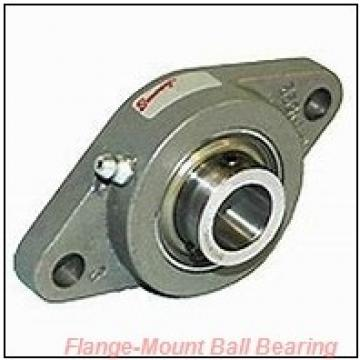 2.1875 in x 5.6300 in x 6.8900 in  SKF FYM 2.3/16 TF/W64 Flange-Mount Ball Bearing Units