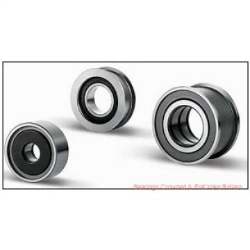 RBC SRF55S Bearings Crowned & Flat Yoke Rollers
