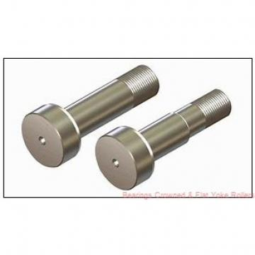 McGill MCYRR 40 Bearings Crowned & Flat Yoke Rollers