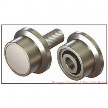 RBC Y224L Bearings Crowned & Flat Yoke Rollers